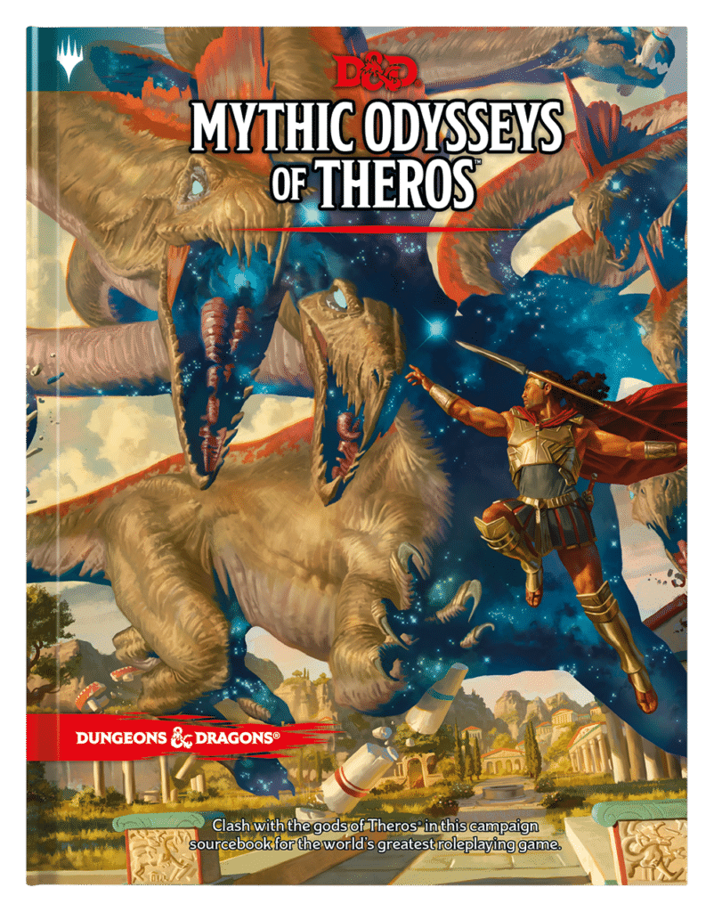 Mythic Odysseys of Theros Official Cover