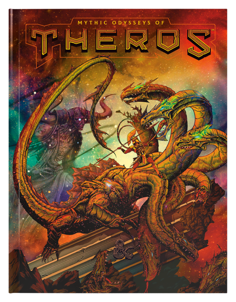 Mythic Odysseys of Theros Alternative Cover